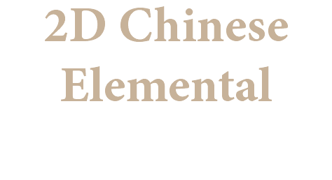 2D Chinese Elemental
